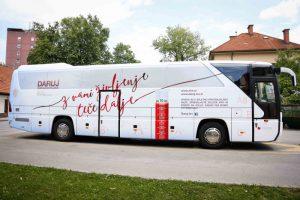 Avtobus ZTM je ob jubileju dobil novo podobo