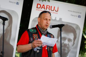 Darujem z veseljem_4. junij, organizator moto krvodajalske akcije Bojan Garantini, Moto klub Klukhena